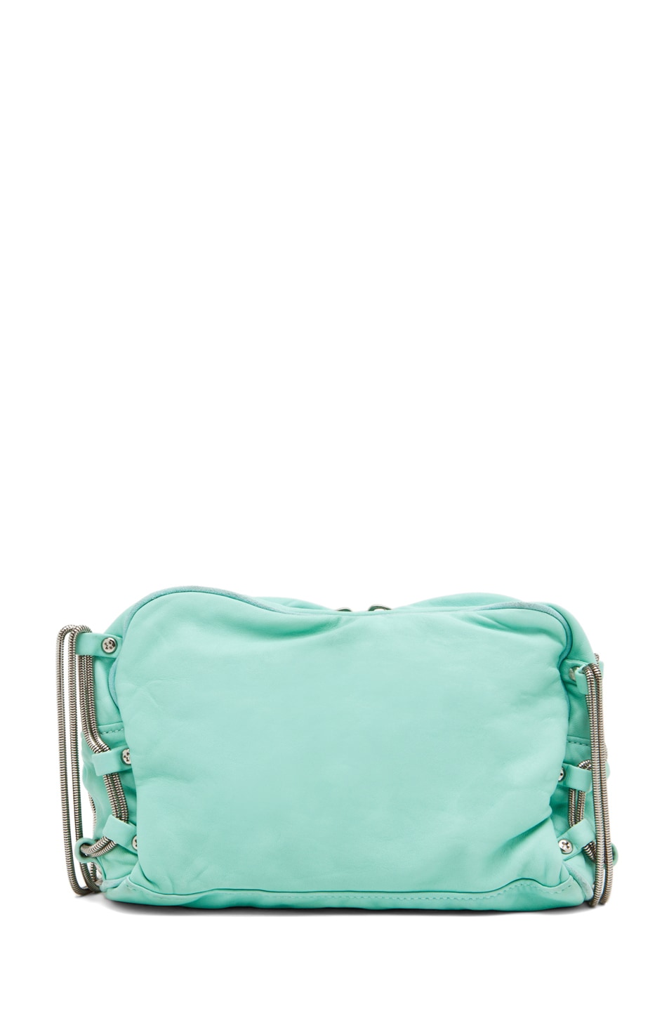 Image 2 of Alexander Wang Brenda Chain Bag in Acqua