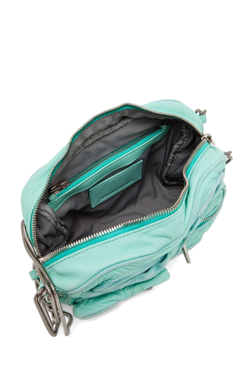 Image 4 of Alexander Wang Brenda Chain Bag in Acqua