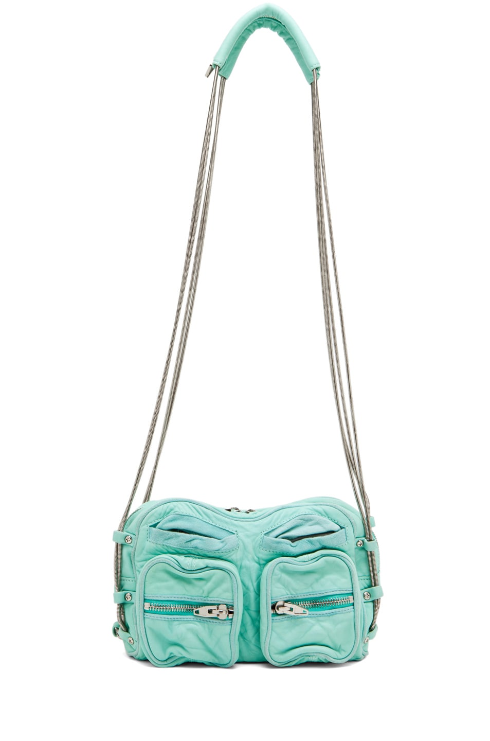 Image 5 of Alexander Wang Brenda Chain Bag in Acqua