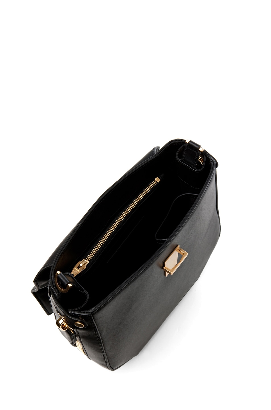 Image 4 of Alexander Wang Devere Structured Shoulder Bag in Black