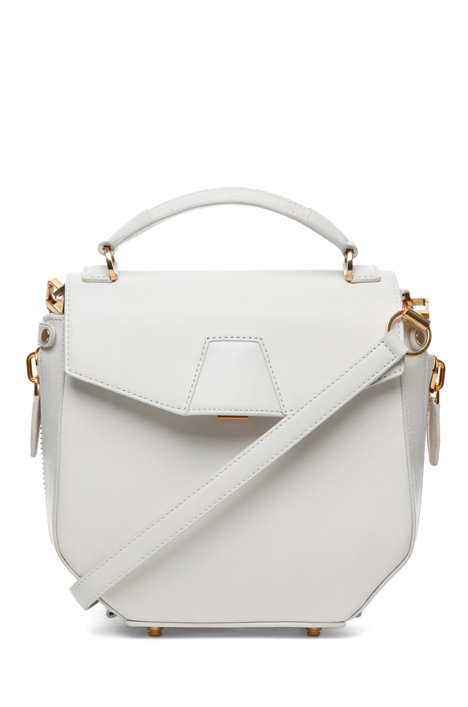 Image 1 of Alexander Wang Devere Structured Shoulder Bag in Ion