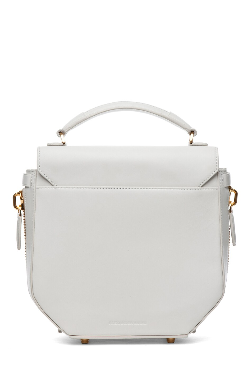 Image 2 of Alexander Wang Devere Structured Shoulder Bag in Ion