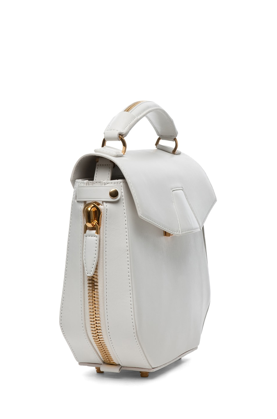 Image 3 of Alexander Wang Devere Structured Shoulder Bag in Ion