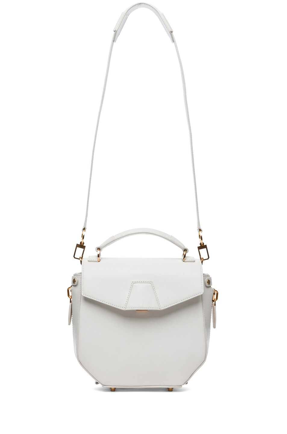 Image 5 of Alexander Wang Devere Structured Shoulder Bag in Ion