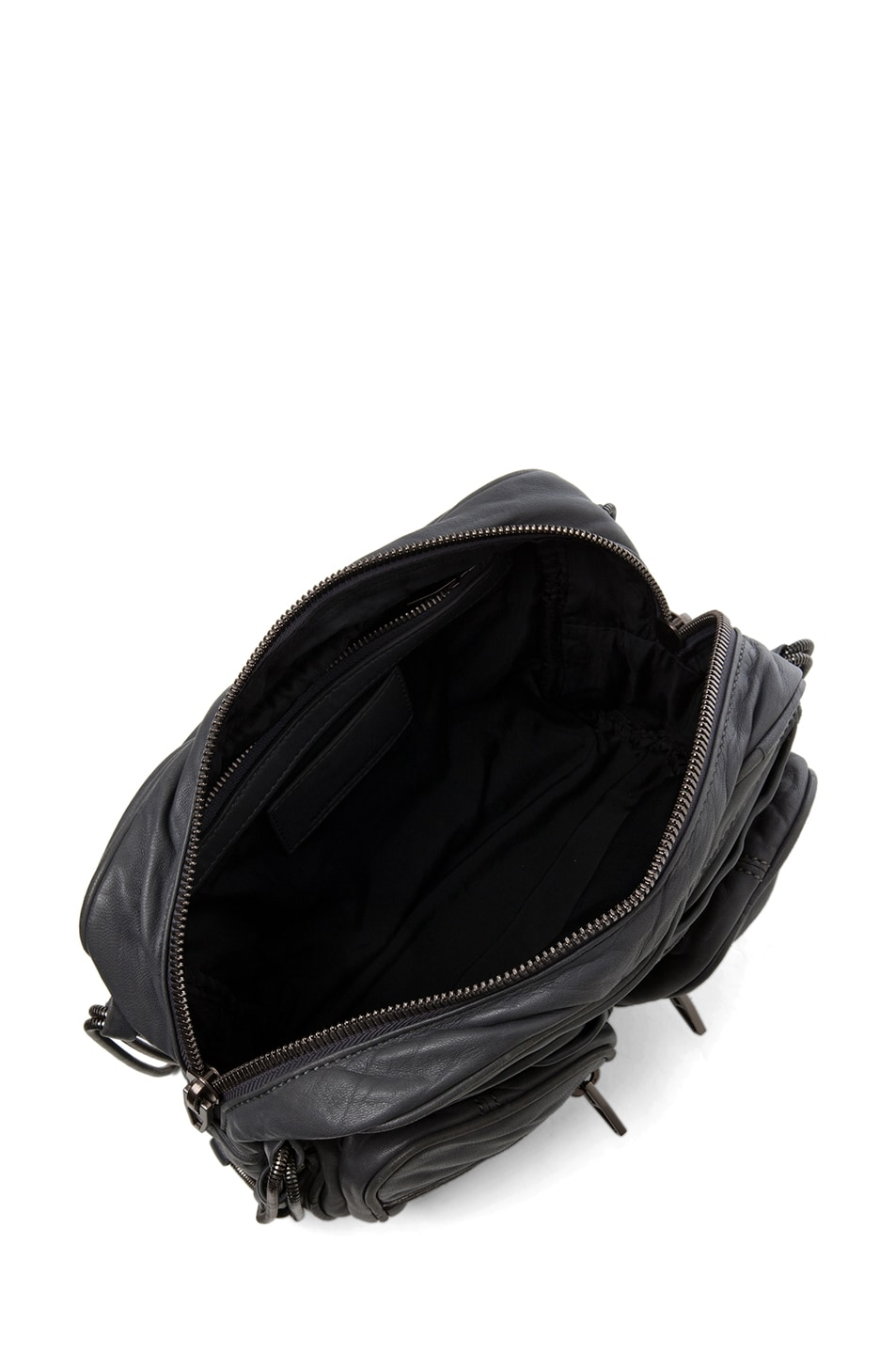 Image 4 of Alexander Wang Brenda Chain Shoulder Bag in Titanium