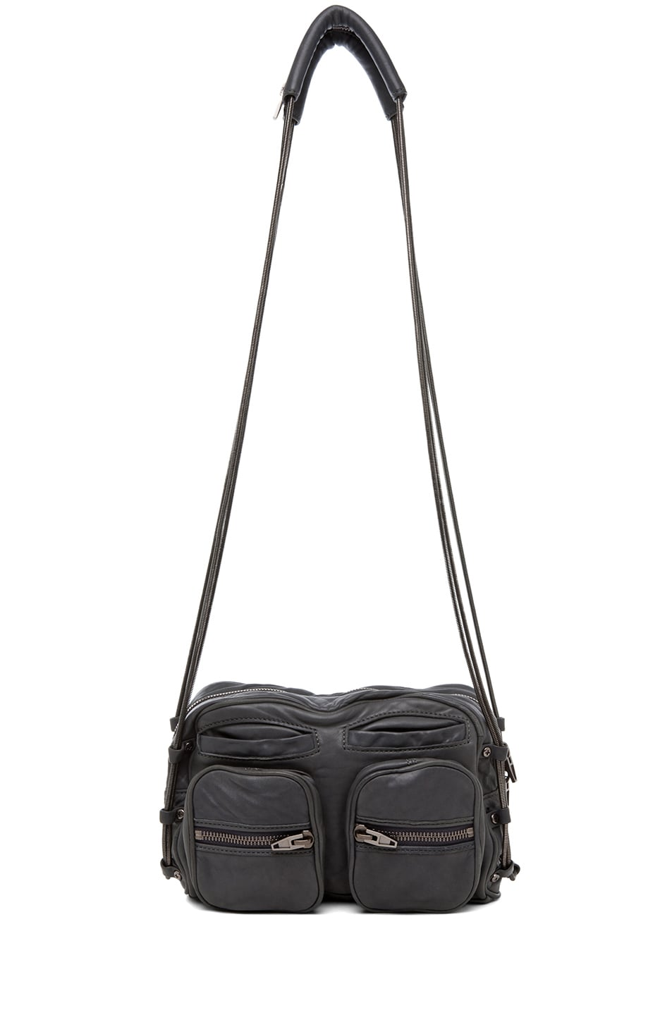 Image 5 of Alexander Wang Brenda Chain Shoulder Bag in Titanium