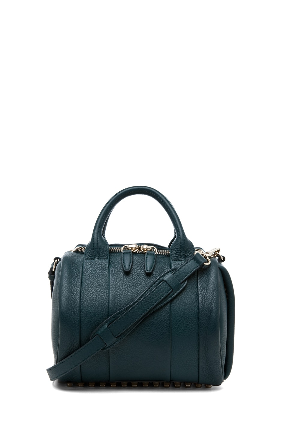 Image 1 of Alexander Wang Rockie Satchel in Dark Argon