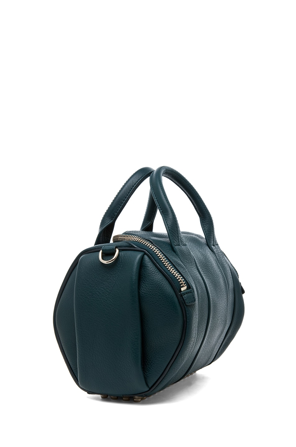 Image 3 of Alexander Wang Rockie Satchel in Dark Argon