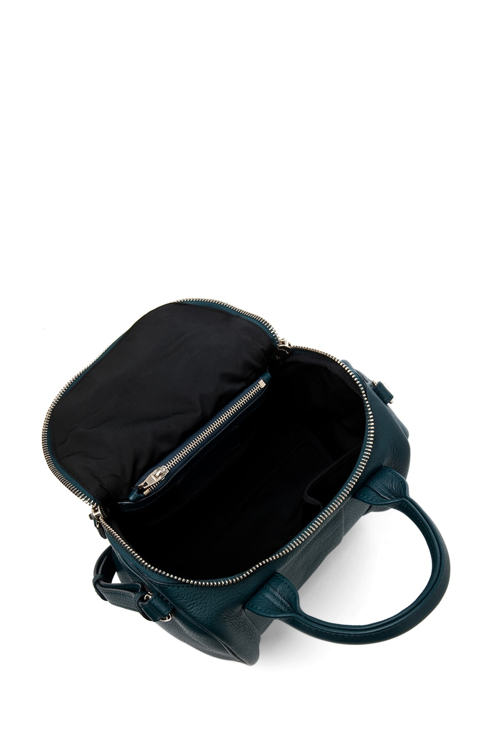 Image 5 of Alexander Wang Rockie Satchel in Dark Argon