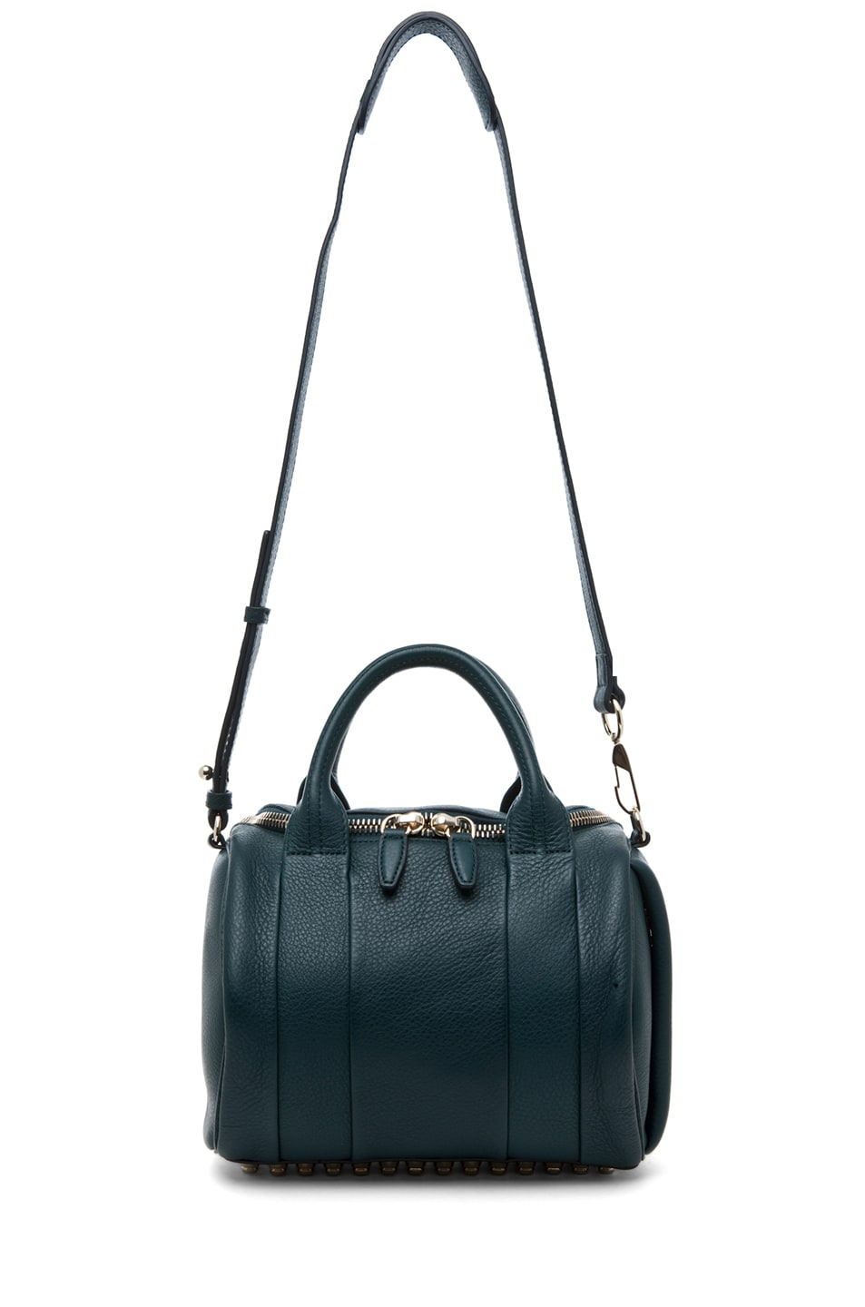 Image 6 of Alexander Wang Rockie Satchel in Dark Argon