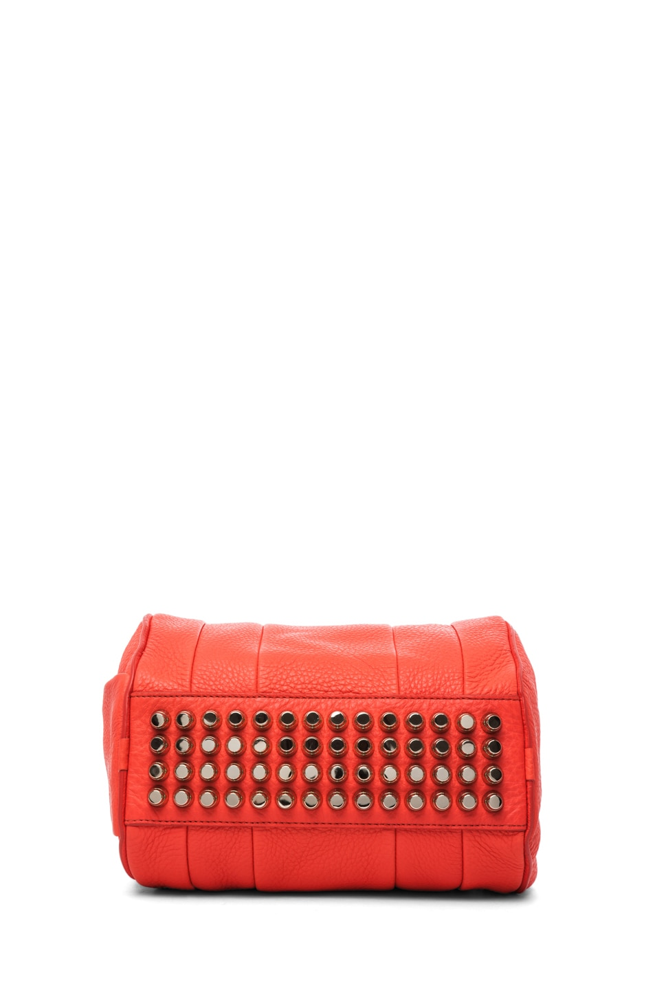 Image 4 of Alexander Wang Rockie Soft Pebble Leather Shoulder Bag in Tang