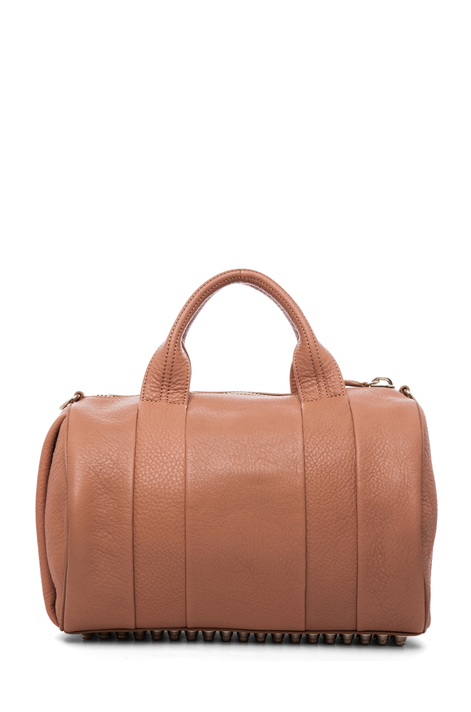 Image 2 of Alexander Wang Rocco Soft Pebble Leather Bag in Tan