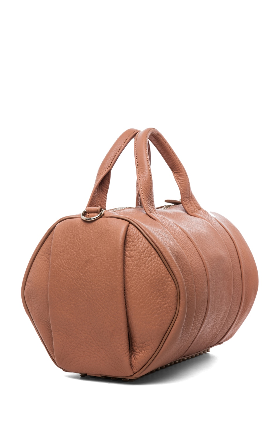 Image 3 of Alexander Wang Rocco Soft Pebble Leather Bag in Tan