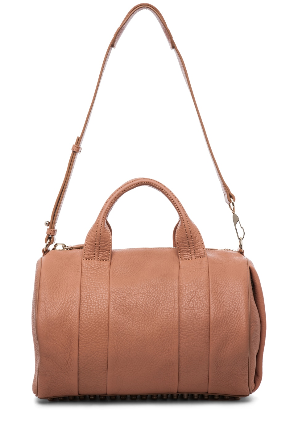 Image 6 of Alexander Wang Rocco Soft Pebble Leather Bag in Tan