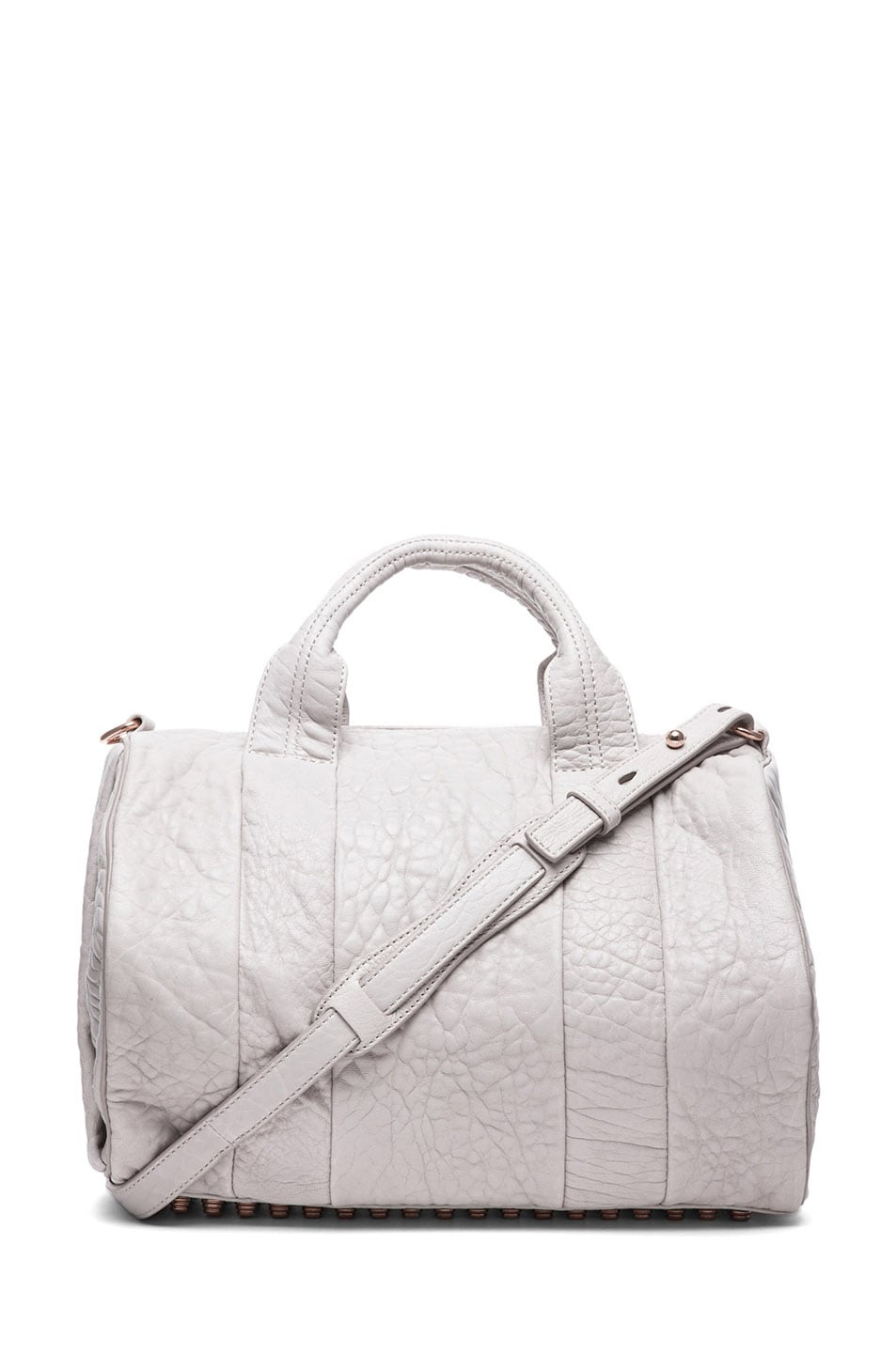 Image 1 of Alexander Wang Rocco Shoulder Bag with Rose Gold in Lilac