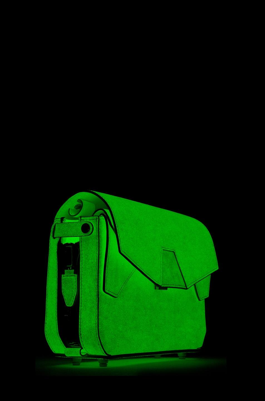 Image 6 of Alexander Wang Glow in The Dark Tri-Fold Shoulder Bag in Glow