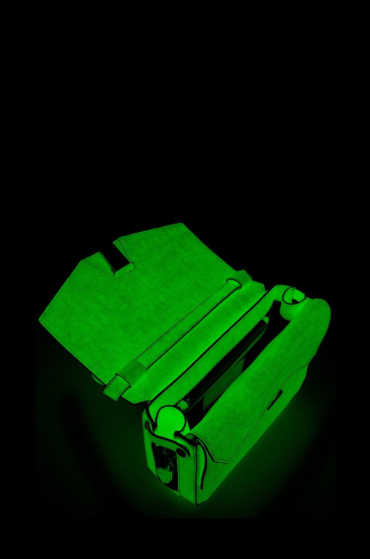 Image 7 of Alexander Wang Glow in The Dark Tri-Fold Shoulder Bag in Glow