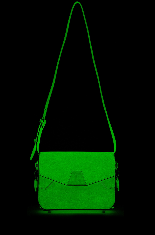 Image 8 of Alexander Wang Glow in The Dark Tri-Fold Shoulder Bag in Glow