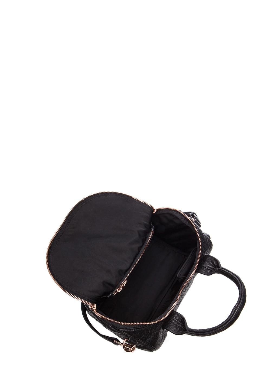 Image 4 of Alexander Wang Rockie Handbag with Rose Gold in Black
