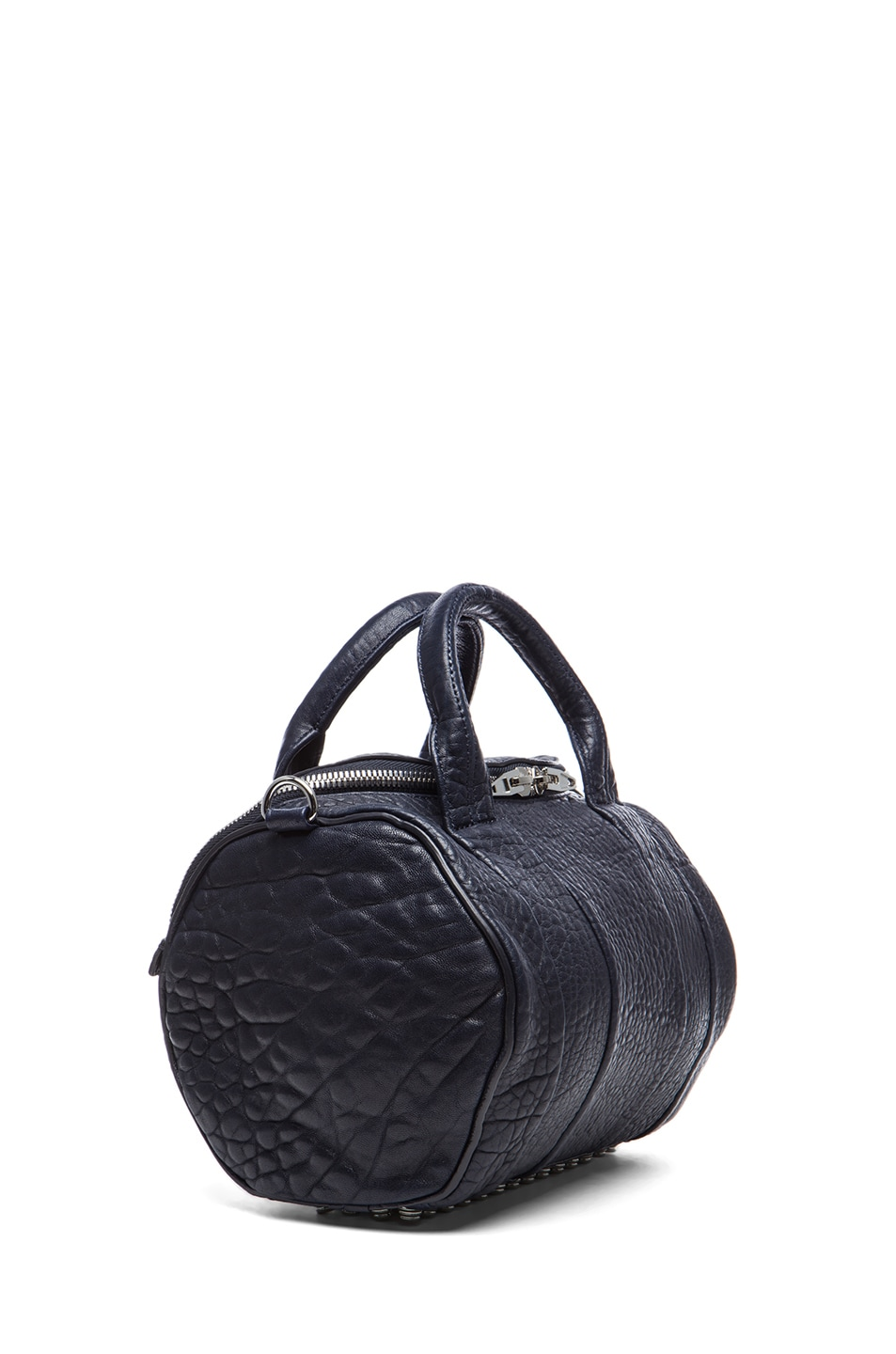 Image 3 of Alexander Wang Rockie Pebble Bag with Rhodium in Ink