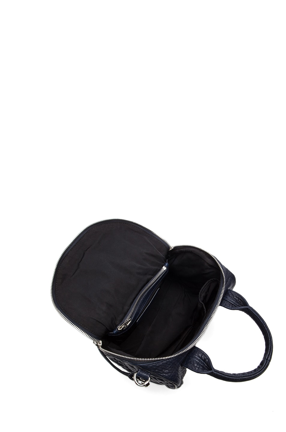 Image 4 of Alexander Wang Rockie Pebble Bag with Rhodium in Ink