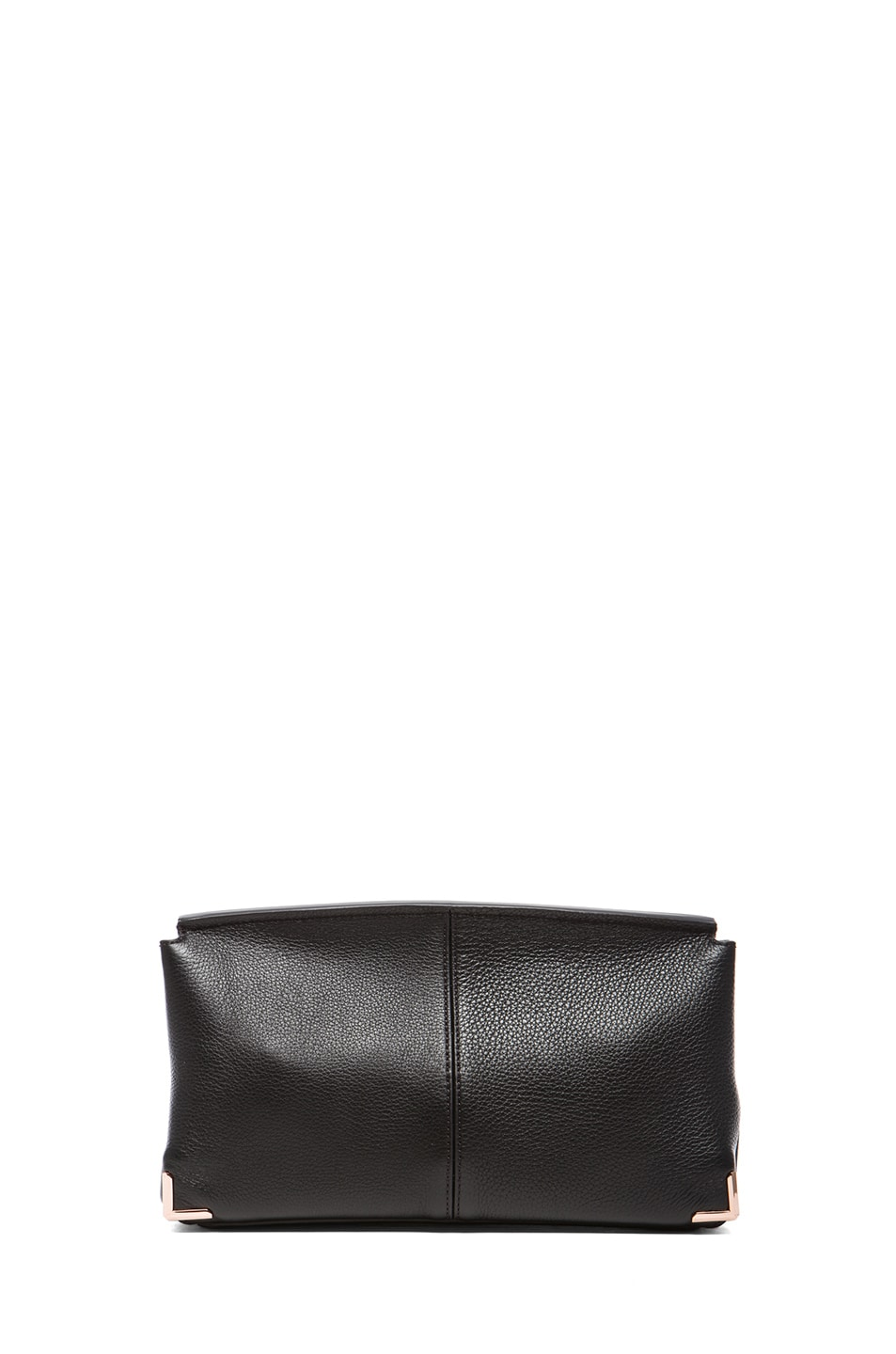 Image 2 of Alexander Wang Prisma Skeletal Clutch with Rhodium Hardware in Black