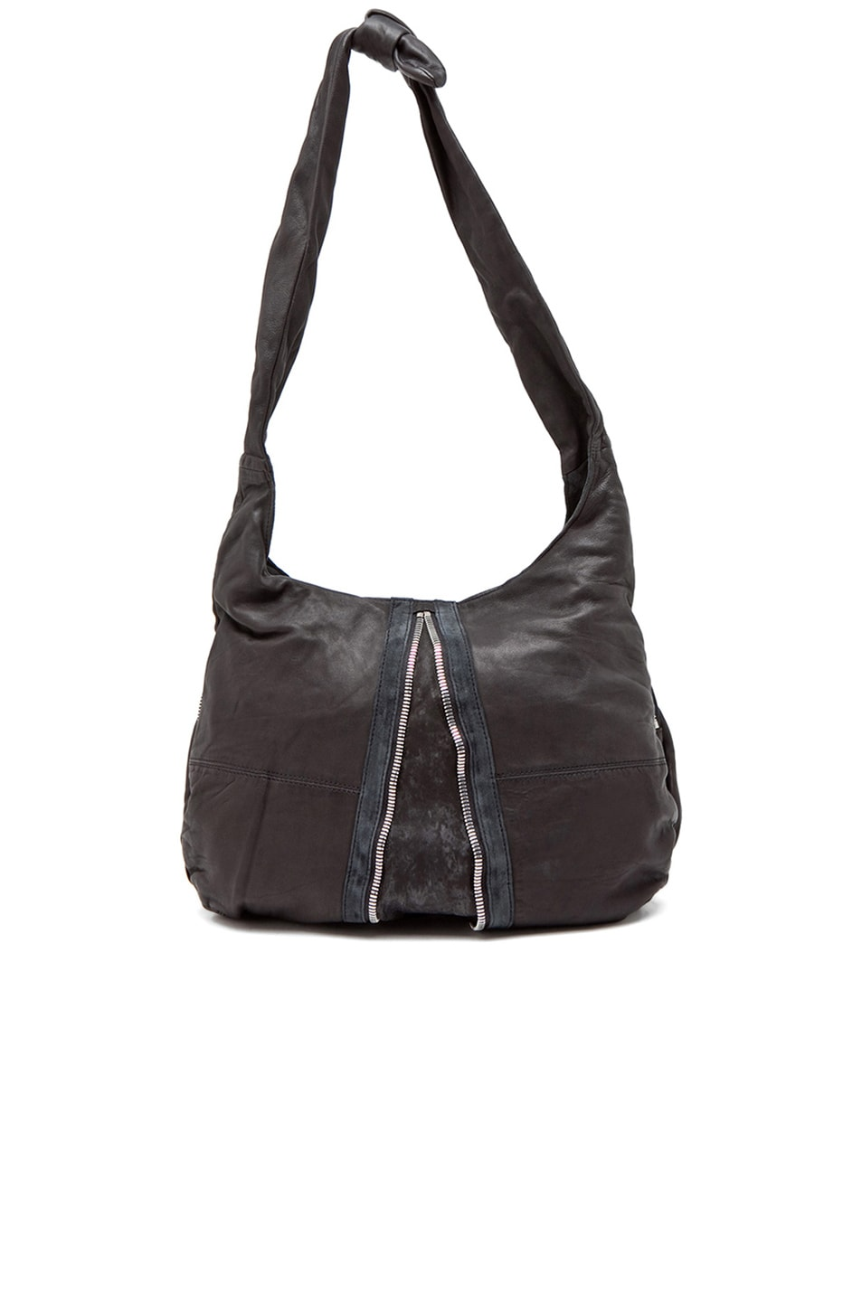 Image 3 of Alexander Wang Donna Hobo in Black