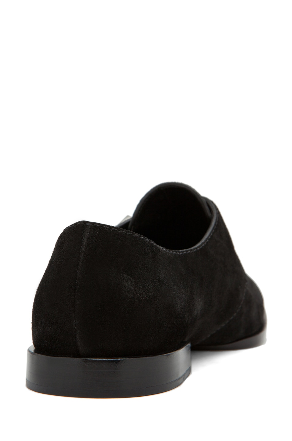 Image 3 of Alexander Wang Ruby Monk Strap Flat in Black