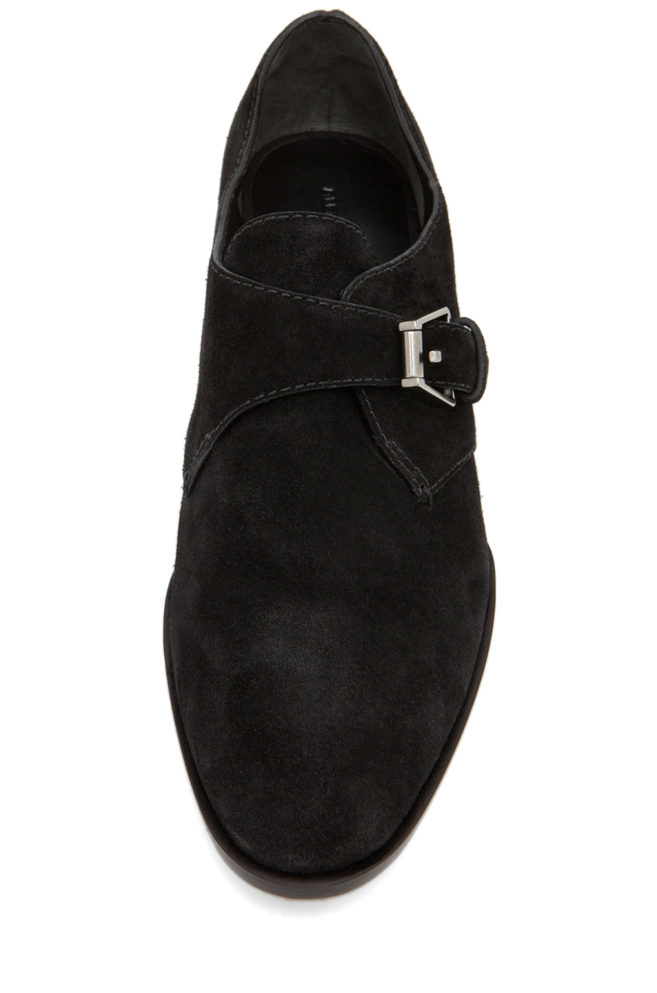 Image 4 of Alexander Wang Ruby Monk Strap Flat in Black
