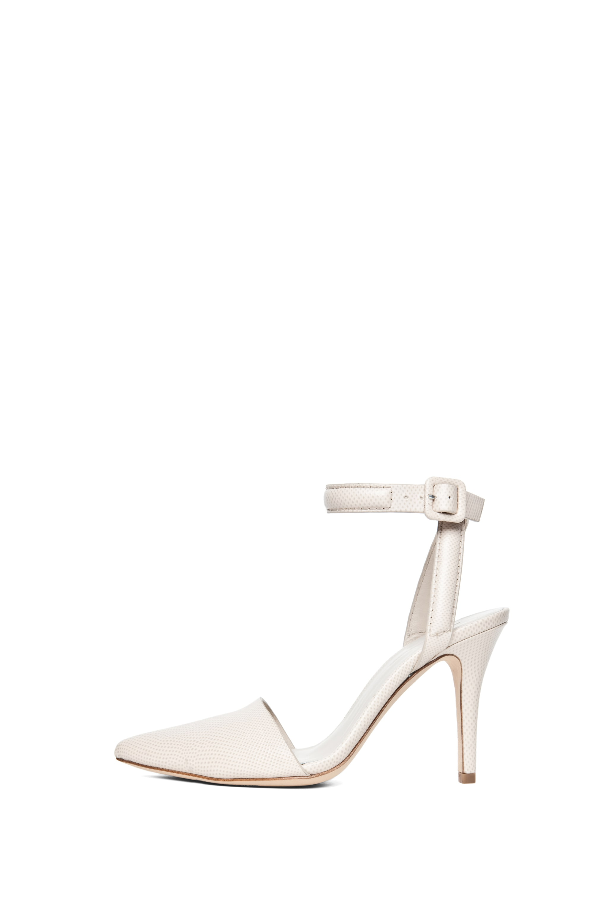 Image 1 of Alexander Wang Lovisa Python Embossed Calfskin Leather Pump in Bandage