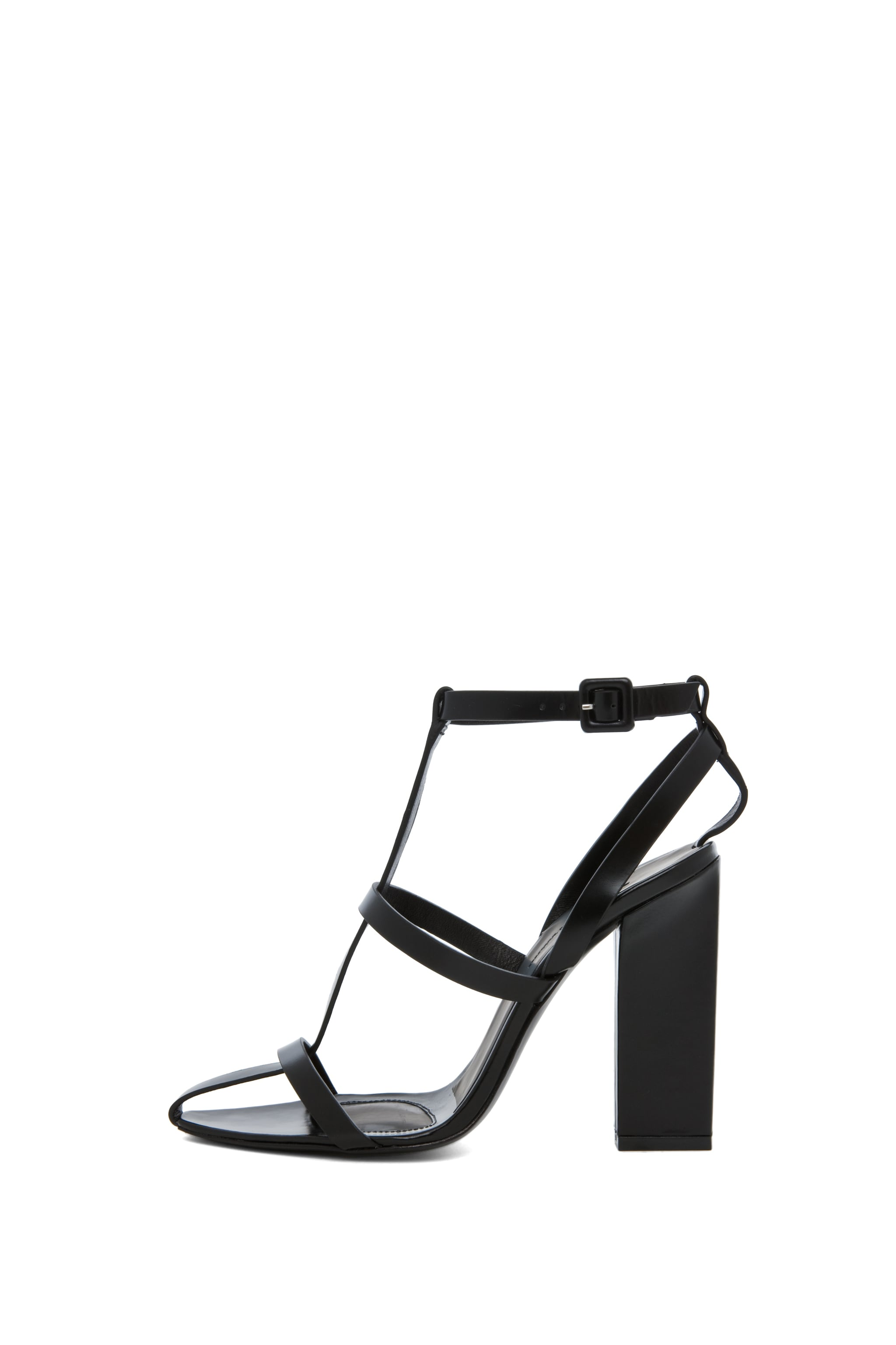 Image 6 of Alexander Wang Aline T Strap Sandal in Black