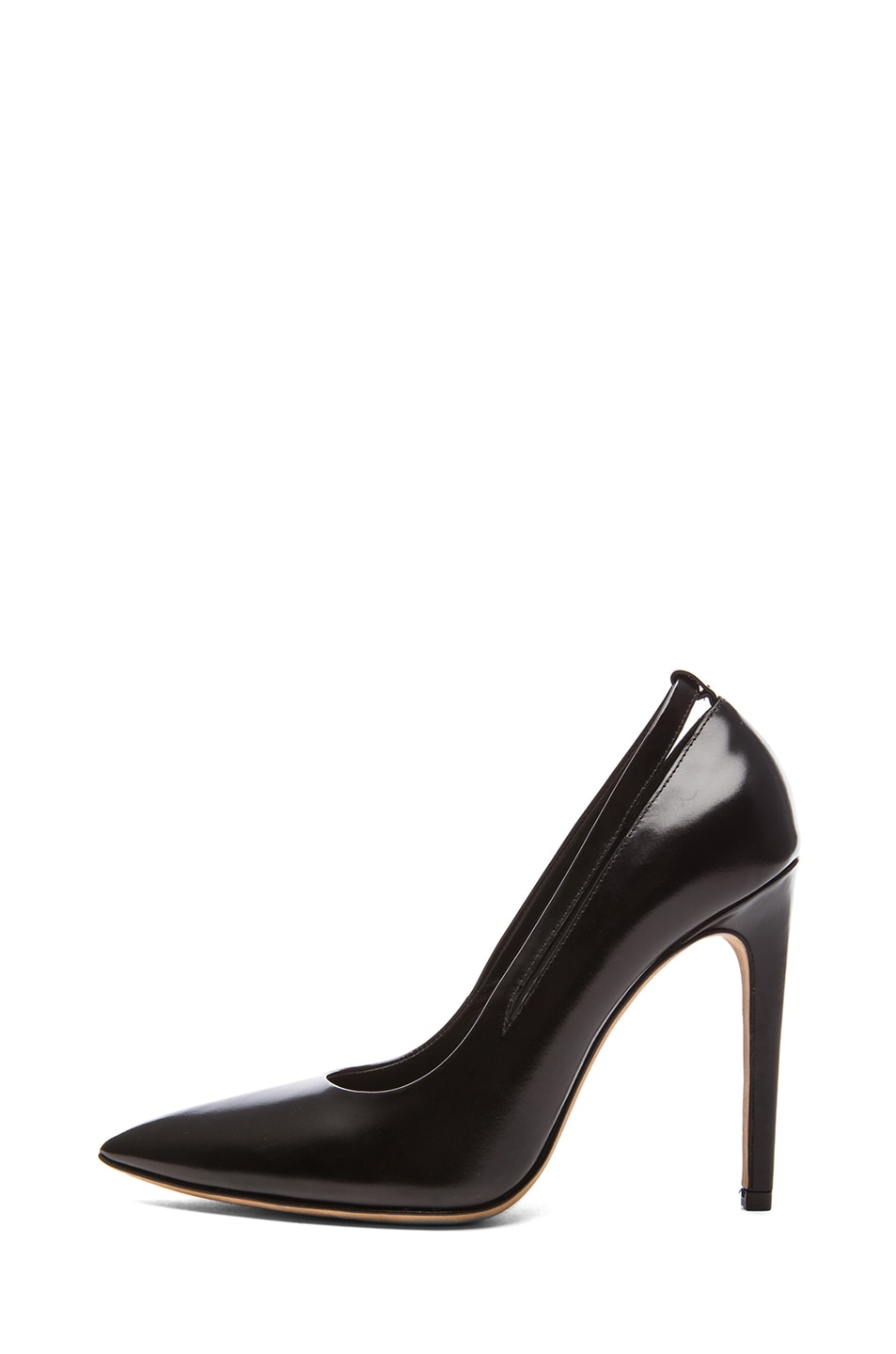 Image 1 of Alexander Wang Kiko Shiny Leather Pumps in Black