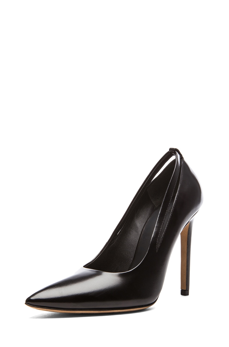 Image 2 of Alexander Wang Kiko Shiny Leather Pumps in Black