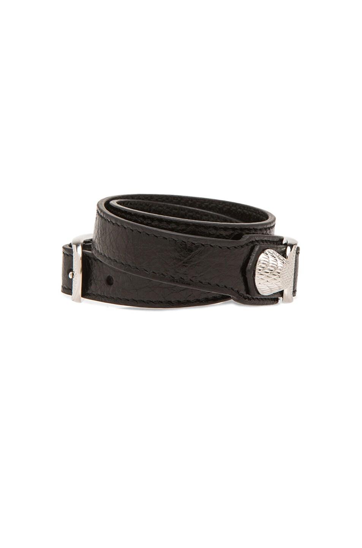 Image 2 of Balenciaga Giant Bracelet in Noir