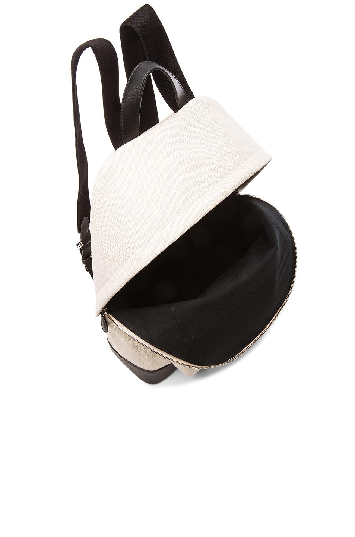 Image 5 of Balenciaga Navy Backpack in Black & Natural