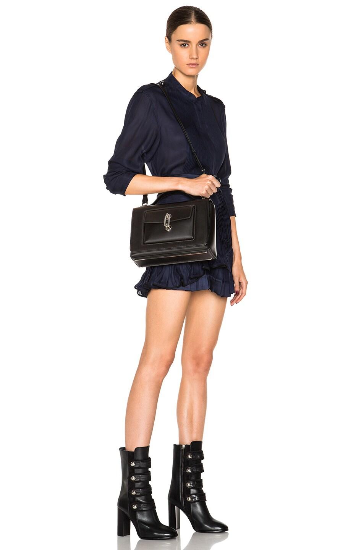 Image 2 of Balenciaga Maillon Flap Shoulder Bag in Black