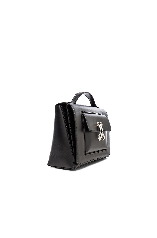 Image 4 of Balenciaga Maillon Flap Shoulder Bag in Black