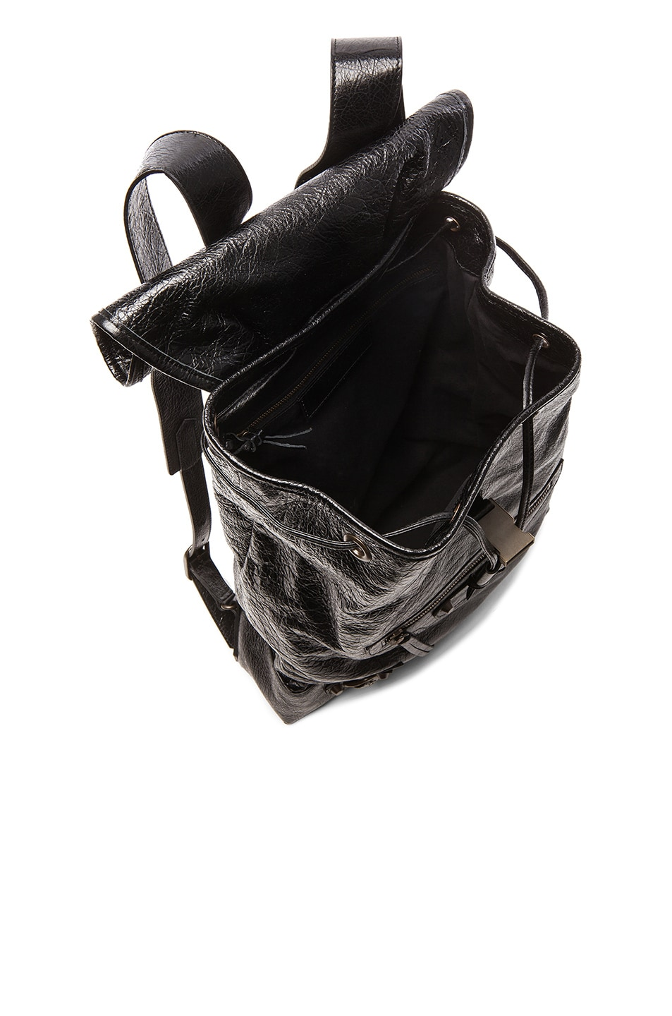Image 5 of Balenciaga Classic Small Traveler Backpack with Traditional Studs in Black