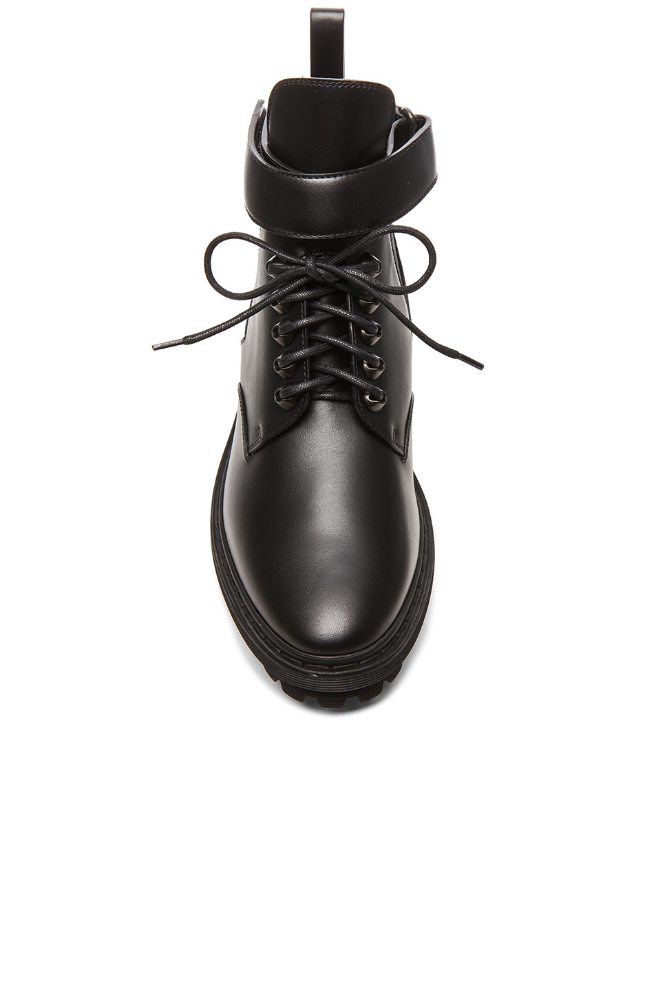 Image 4 of Balenciaga Unit Leather Ankle Boots in Black