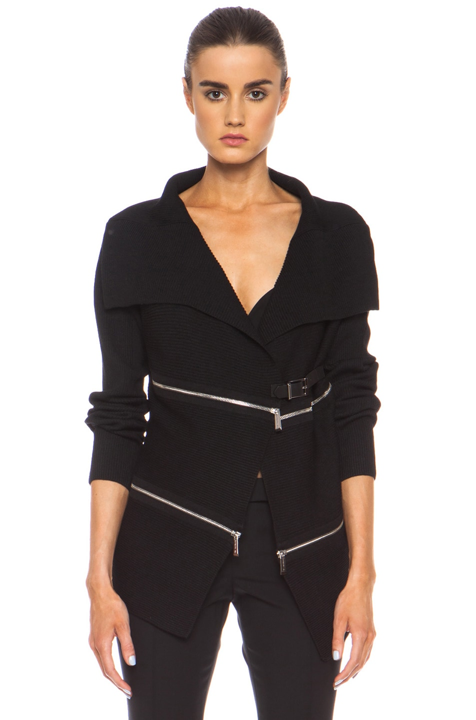 Image 2 of Barbara Bui Knit Sweater in Black