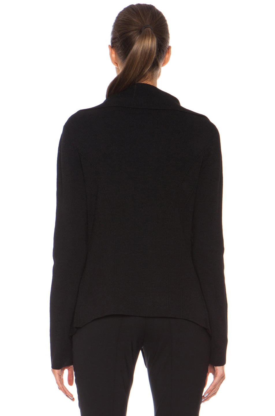 Image 5 of Barbara Bui Knit Sweater in Black