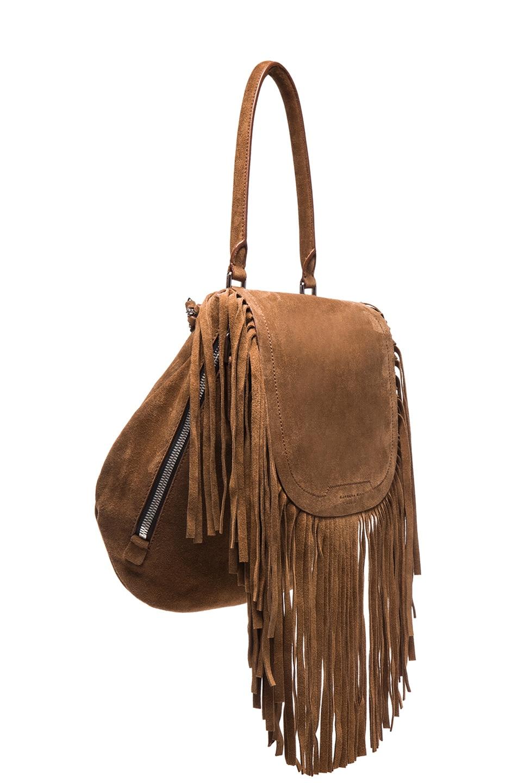 Image 4 of Barbara Bui Fringe Bag in Brown