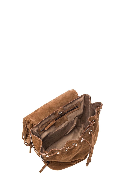 Image 5 of Barbara Bui Fringe Bag in Brown