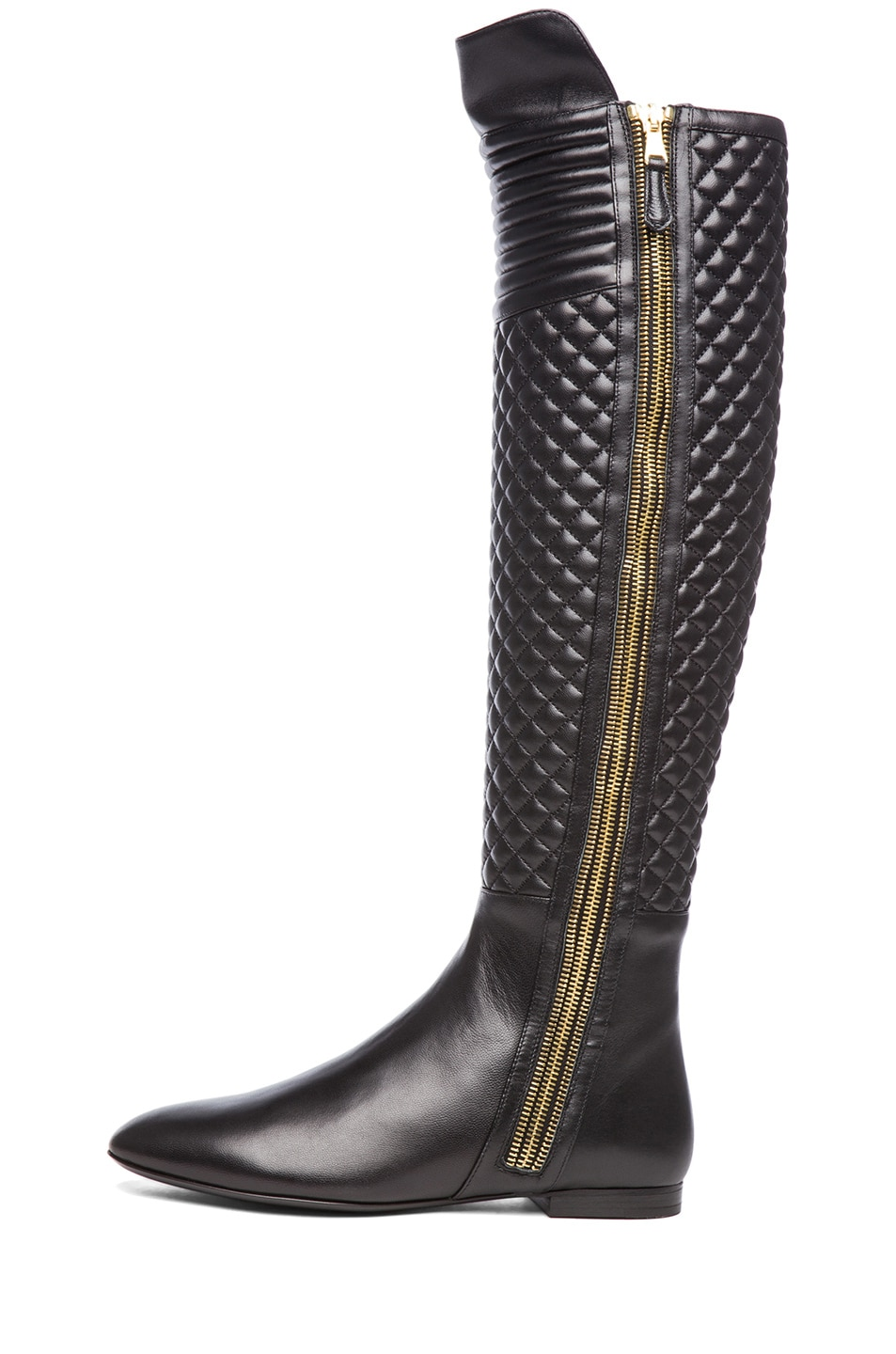 Image 1 of Brian Atwood Ares Nappa Leather Boot in Black