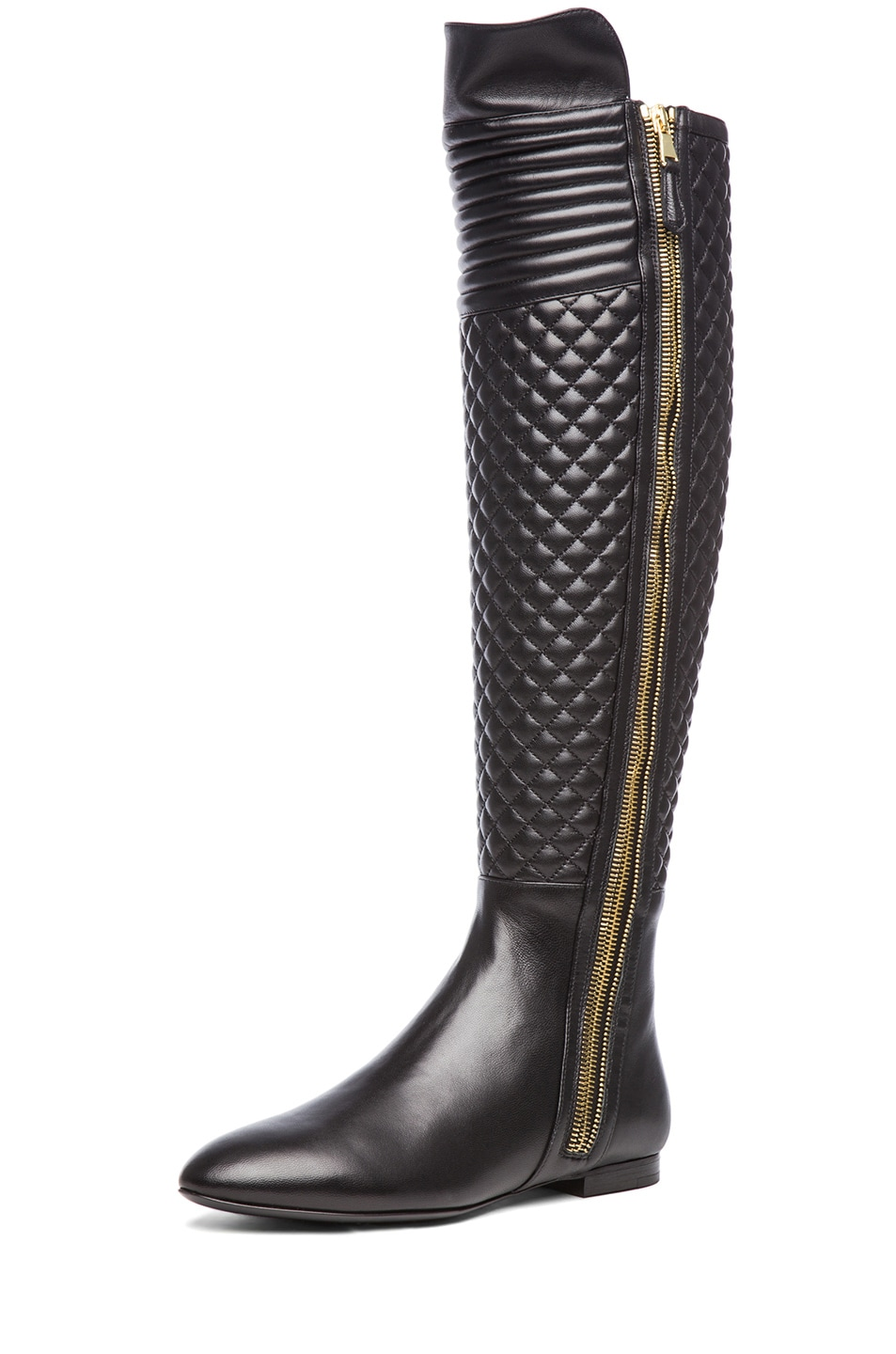 Image 2 of Brian Atwood Ares Nappa Leather Boot in Black