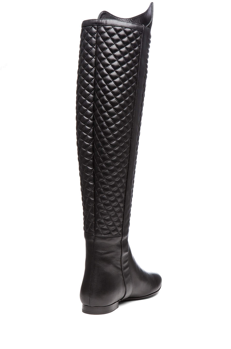 Image 3 of Brian Atwood Ares Nappa Leather Boot in Black