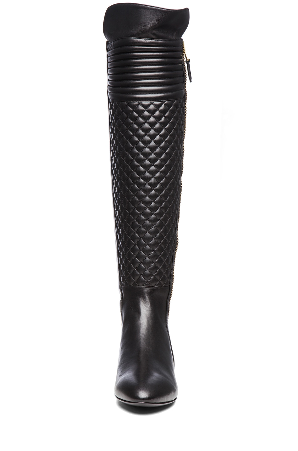 Image 4 of Brian Atwood Ares Nappa Leather Boot in Black