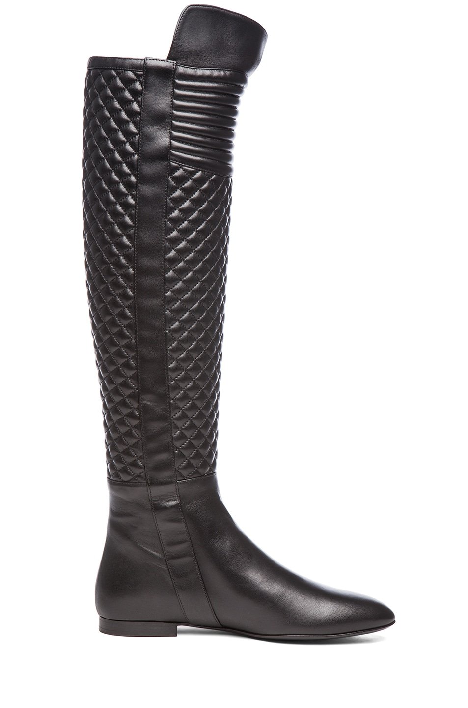 Image 5 of Brian Atwood Ares Nappa Leather Boot in Black