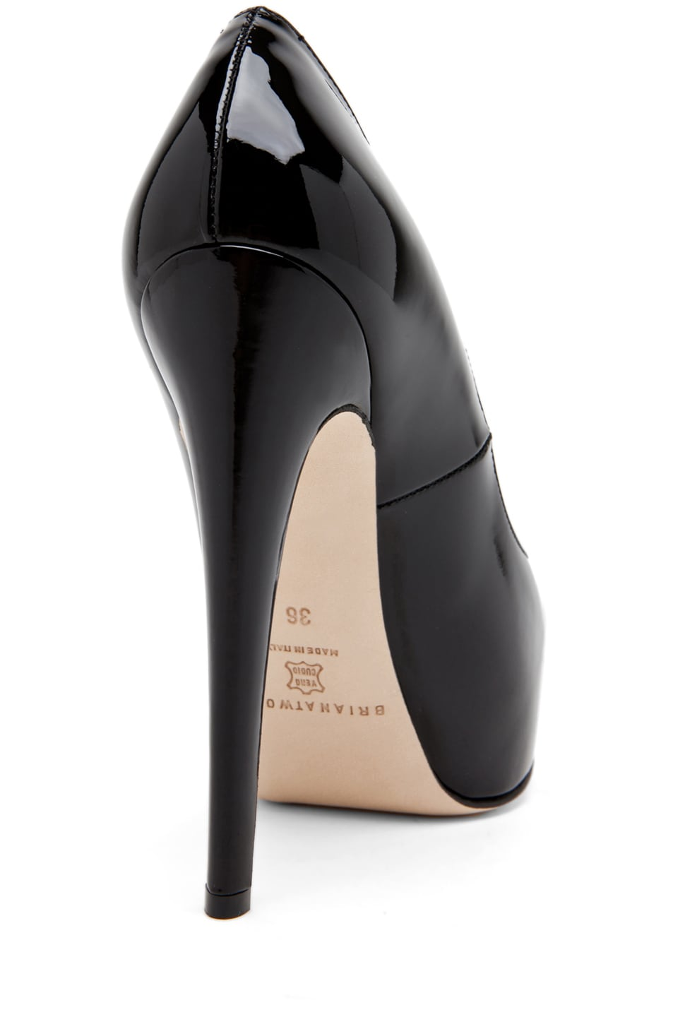 Image 3 of Brian Atwood Maniac Pump in Black