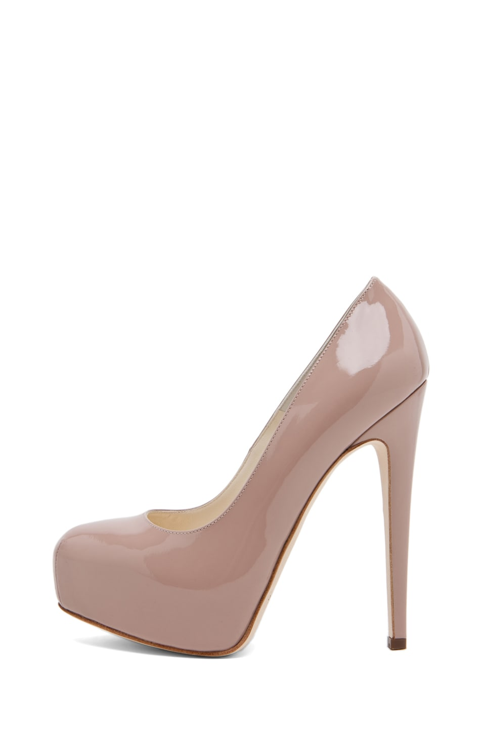 Image 2 of Brian Atwood Maniac Pump in Cappuccino Nude